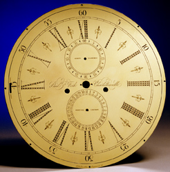Ornamental Clock Dial