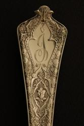 Hand Engraved Tiffany Persian Flatware